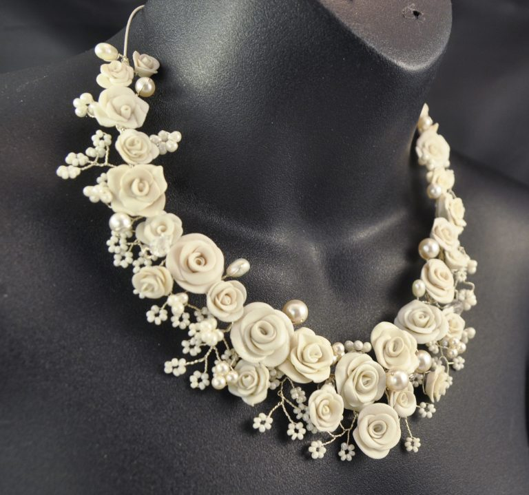 Roses Bridal Necklace