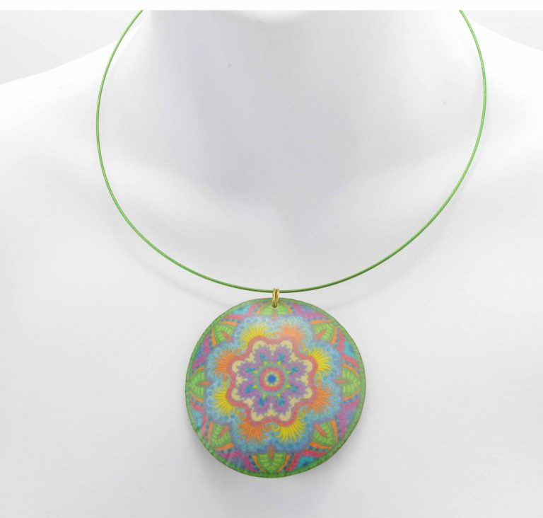 Coloring Book Transfer Necklace